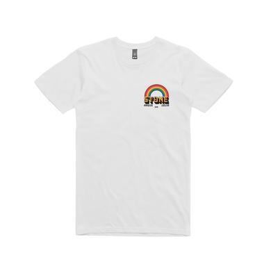 Angus & Julia Stone Australian 2018 Tour / Rainbow White T-shirt