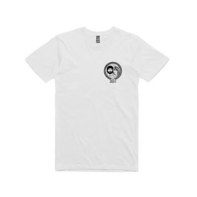 Angus & Julia Stone Cartoon / White T-shirt