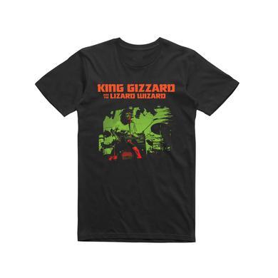 King Gizzard & The Lizard Wizard KG Live  / Black T-shirt