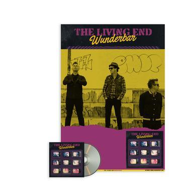 The Living End **PREORDER** Wunderbar / Signed Poster + CD Bundle 8