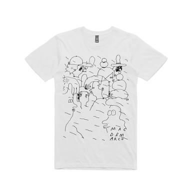 Mac Demarco People Doodle / White T-shirt