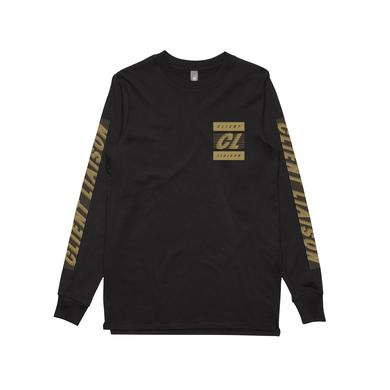 Client Liaison Speed 1.0 Gold / Black Longsleeve T-shirt / LIMITED EDITION