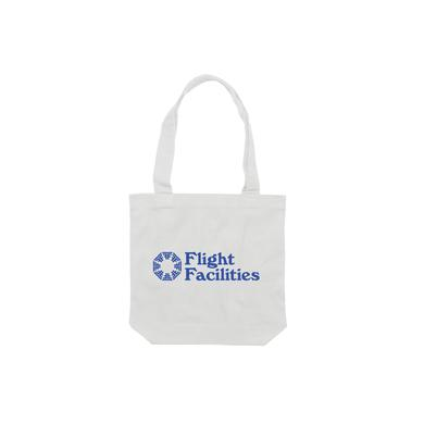 Flight Facilities 30,000 feet / White Tote Bag