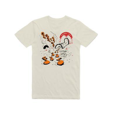 King Gizzard & The Lizard Wizard Gumboot Soup / Sand T-shirt