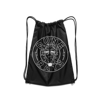 Dune Rats Death Rat / Black Drawstring Bag