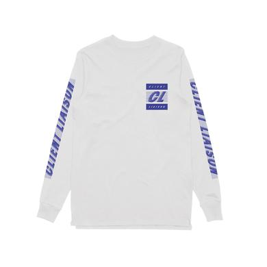 Client Liaison Speed 1.0  / Longsleeve White T-shirt