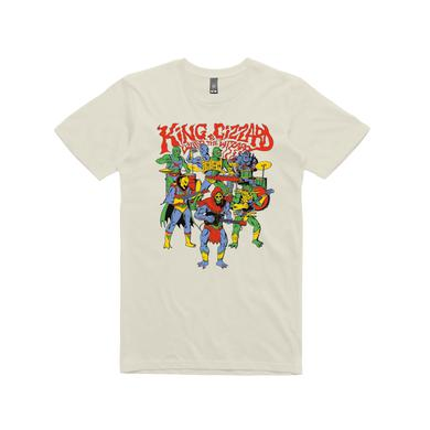 King Gizzard & The Lizard Wizard Masters / Cream T-shirt