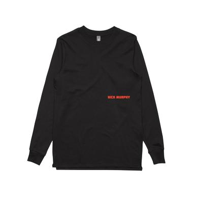 Nick Murphy Fearless / Black Longsleeve T-shirt