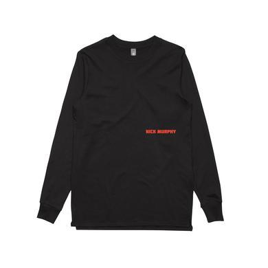 Nick Murphy Fearless / Black Longsleeve T-shirt