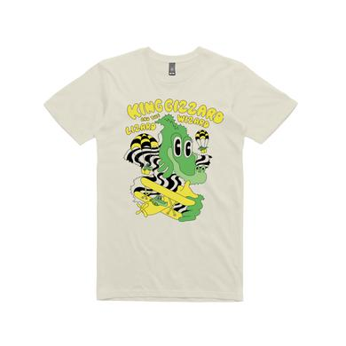King Gizzard & The Lizard Wizard Balloon Dragons / Cream T-shirt