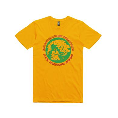 King Gizzard & The Lizard Wizard Flying Microtonal Banana / Gold T-shirt