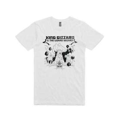 King Gizzard & The Lizard Wizard Mind Fuzz  / White T-shirt