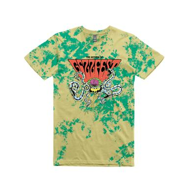 King Gizzard & The Lizard Wizard Gizzfest 2016  / Tie Dye T-shirt
