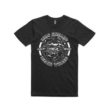 King Gizzard & The Lizard Wizard Gator / Black T-shirt