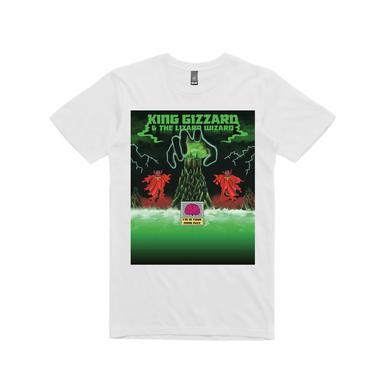 King Gizzard & The Lizard Wizard Mind Fuzz Colour / White T-shirt
