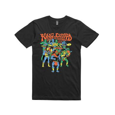 King Gizzard & The Lizard Wizard Masters / Black T-shirt