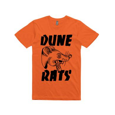 Dune Rats Acid Rat / Orange T-shirt