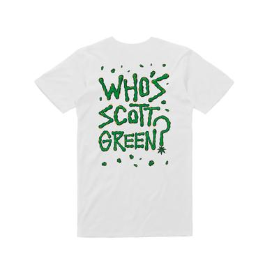 Dune Rats Who's Scott Green/ White T-shirt