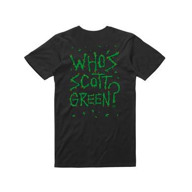 Dune Rats Who's Scott Green/ Black T-shirt