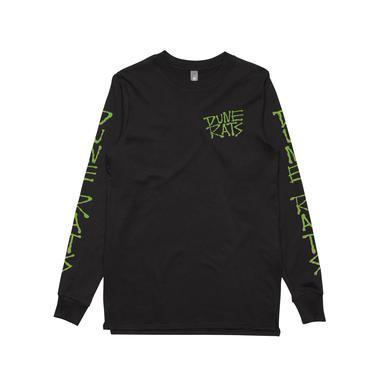 Dune Rats Bullshit / Black Longsleeve T-shirt
