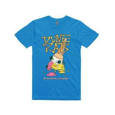 Dune Rats Ice cream / Blue T-shirt