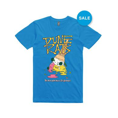 Dune Rats Ice cream / Blue T-shirt
