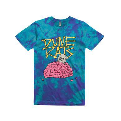 Dune Rats Brain Dead / Blue Tie Dye T-shirt