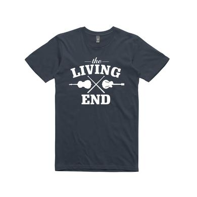 The Living End Guitar /  Navy T-shirt