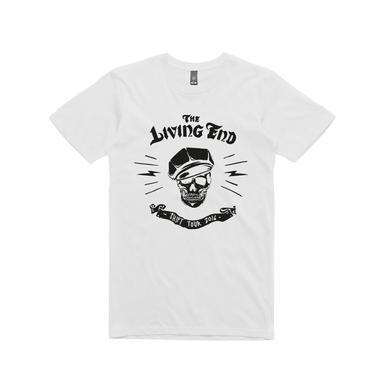 The Living End Shift Skull / White t-shirt