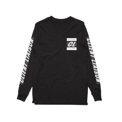 Client Liaison Speed 2.0 / Black Longsleeve T-shirt / LIMITED EDITION