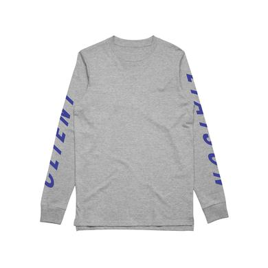 Client Liaison SPEED (REMIX)/ Grey Marl Longsleeve T-shirt / LIMITED EDITION
