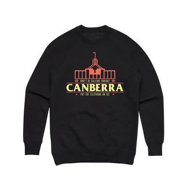 Client Liaison Canberra / Black Crew Sweater