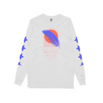 Client Liaison Hotel Stay / White Longsleeve