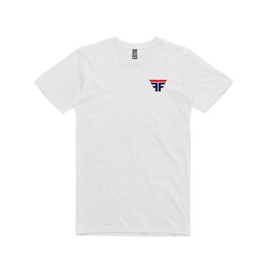Flight Facilities Sunrise Bomber/ White T-shirt
