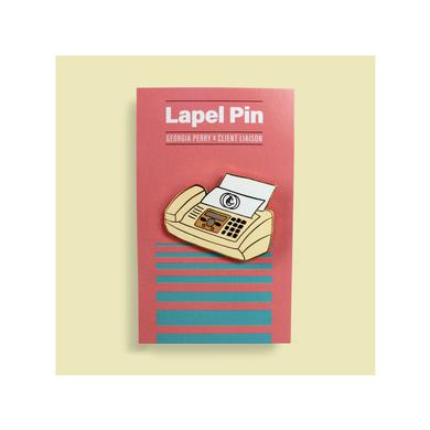 Client Liaison Fax Machine / Lapel Pin