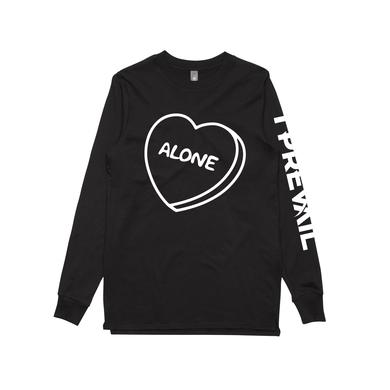 I Prevail Alone / Black Long Sleeve T-shirt
