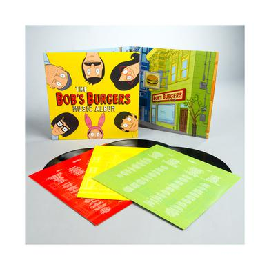 Bob's Burgers Music Album / Bob's Burger's 3LP+7""