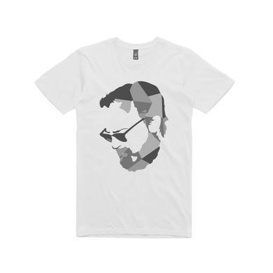 Nick Murphy 'Built on Glass' Australian Tour / White T-shirt