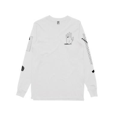 Nick Murphy Hand / White Longsleeve T-shirt
