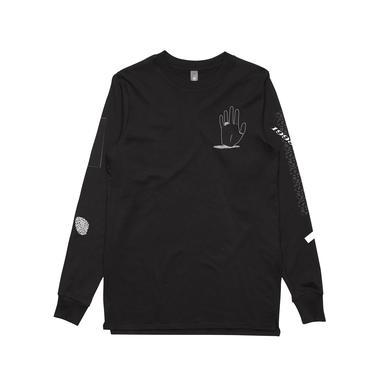 Nick Murphy Hand / Black Longsleeve T-shirt