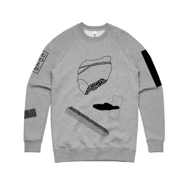 Nick Murphy Shapes/ Grey Marl Crew