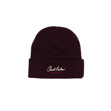 Nick Murphy 'Built On Live' / Wine Beanie