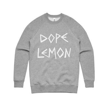 DOPE LEMON Dope Logo / Grey Sweater