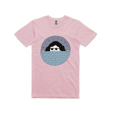 Big Scary Peeping Tom  / Pink T-shirt