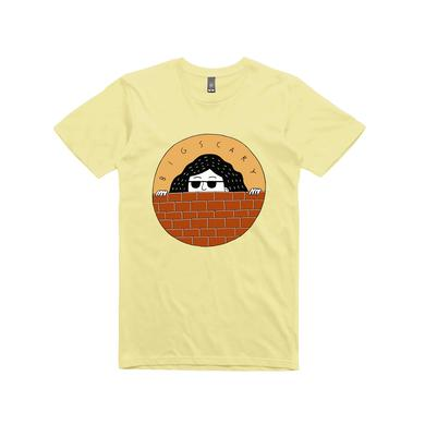 Big Scary Peeping Tom / Lemon T-shirt.