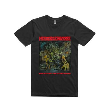 King Gizzard & The Lizard Wizard Murder Of The Universe /  Black T-shirt