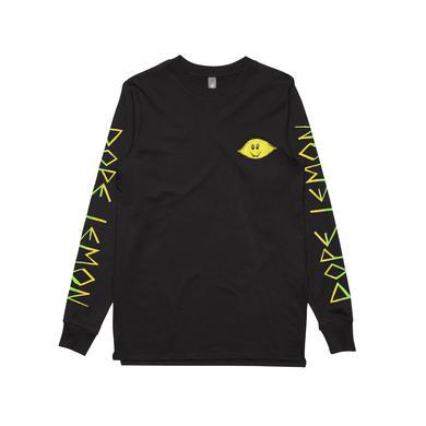 DOPE LEMON Lemon / Black Longsleeve T-shirt