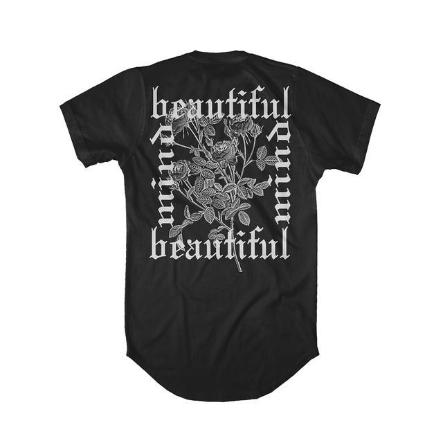 Jon Bellion Old English Floral Long T-Shirt