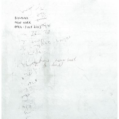 Bosaina 'New York April – July 2013 / Two Names Upon The Shore' Vinyl Record