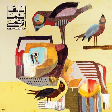 Alif 'Aynama-Rtama' Vinyl Record